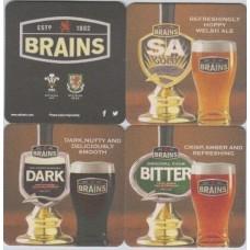 Brains Cardiff Set Nos. 221 - 224