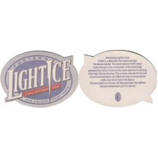 Fosters Light Ice Australia (Carlton and United Breweries) No.002