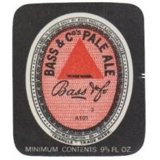 Bass & Co. Pale Ale Beer Bottle Label
